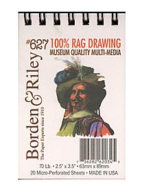 #627 100% Rag Drawing Paper Pad