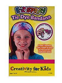 E-Z Spray Tie Die Bandana Mini Kit