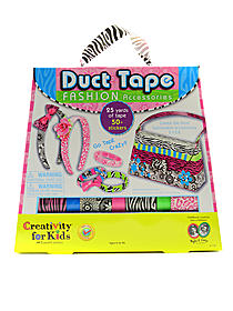 Duct Tape Fashion Accessories