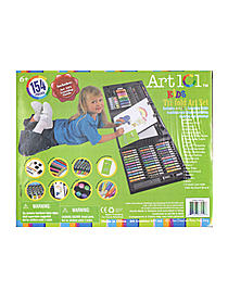 Kid's Tri-Fold 154-Piece Art Set
