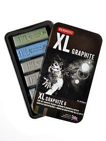 XL Graphite Blocks assorted set of 6