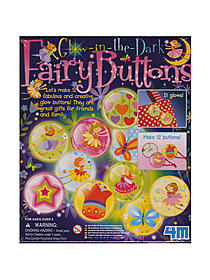 Glow-in-the-Dark Fairy Buttons