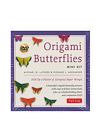 Origami Butterflies Mini Kit with DVD each
