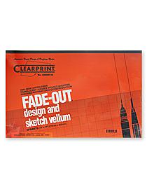 Fade-Out Design and Sketch Vellum - Grid Pad