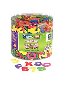 Creativity Street WonderFoam Letters and Numbers
