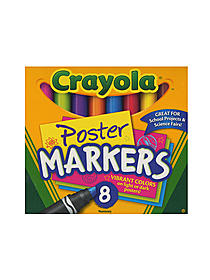 Poster Markers pack of 8