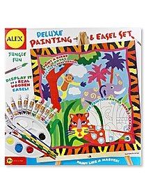 Deluxe Painting & Easel Set