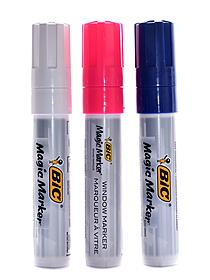 Magic Marker Window Marker bullet tip yellow pink pack of 2