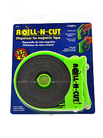 Roll-N-Cut Magnetic Tape with Dispenser