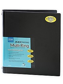 Art Profolio Multi-Ring Binder and refills