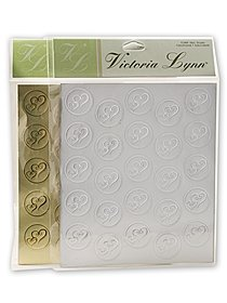Victoria Lynn Double Heart Foil Stickers
