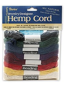 Hemp Twine 7 yds of 8 colors