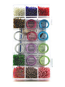 Metallic Wire and Beads Kit