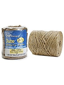 3 ply 28 lb. Natural Jute 98 yds.