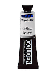 OPEN Acrylic Colors light ultramarine blue 2 oz. tube 59645