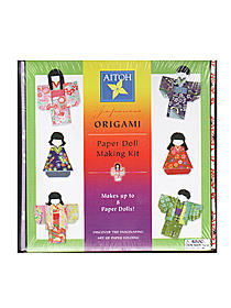 Origami Paper Doll Making Kit