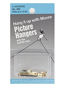 Picture Hangers with Super Nail