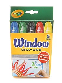 Washable Window Crayons