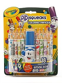 Pip Squeak Pencils pack of 18