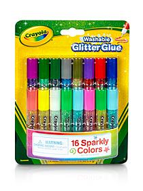 Pip Squeak Glitter Glue pack of 16