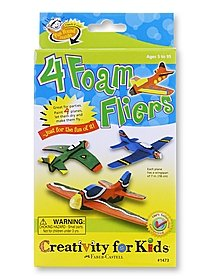 4 Foam Fliers Creativity Kit