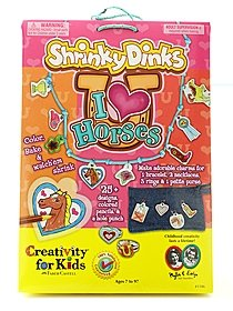 Shrinky Dinks I Love Horses