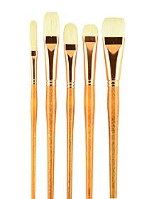 Series 5400 Natural Bristle Oil & Acrylic Brushes