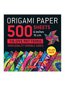 Packages come in either small (6 3/4 in. x 6 3/4 in.) or large (8 1/4 in. x 8 1/4 in.) and contain 48 or 49 sheets of double sided square paper. An instruction booklet is also included to get you started folding right away.
