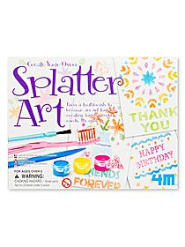 Create Your Own Splatter Art