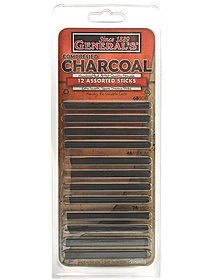 Compressed Charcoal Set