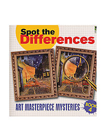 Spot the Differences Art Masterpieces Mysteries Book 3