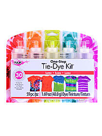 One-Step Tie-Dye 5-Color Kits