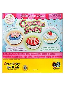 Make Your Own Cupcake Soaps