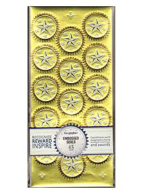 Foil Seals foil seals silver whimsy pack of 48