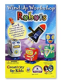 Wind-up Workshop Robots Kit