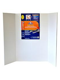Guide-Line Tri-Fold Display Board
