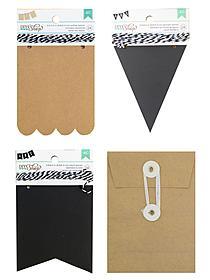 DIY Shop chalkboard secuity envelopes pack of 12