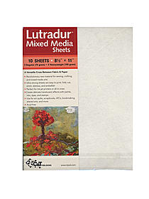 Lutradur Mixed Media Sheets pk/10 8.5x11
