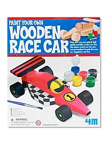 Paint Your Own Wooden Race Car