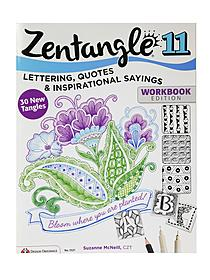 Zentangle Book Series Tangled Fashionista 3492
