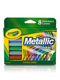 Metallic Markers pack of 8