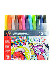 Koi Coloring Brush Sets
