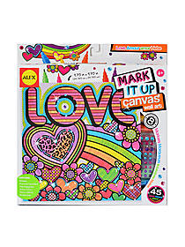 Mark it Up Canvas Wall Art