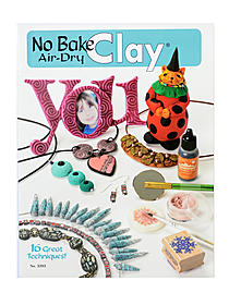 No Bake Air Dry Clay Book