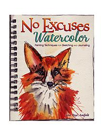 No Excuses Watercolor each 16451