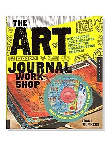 Art Journal Workshop -- Book with DVD