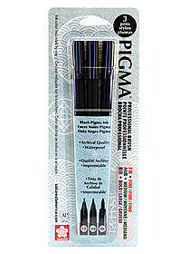 Pigma Professional Brush Pen Sets
