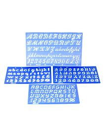 Assorted Font Lettering Guide set of 4 22060
