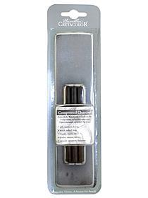 Compressed Charcoal Set soft, medium, hard set of 3