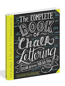 The Complete Book of Chalk Lettering each
